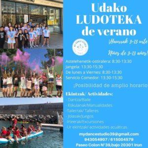 My Dance Studio-ludoteca-verano-Irun