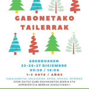 egiluze-talleres de navidad-Hondarribia