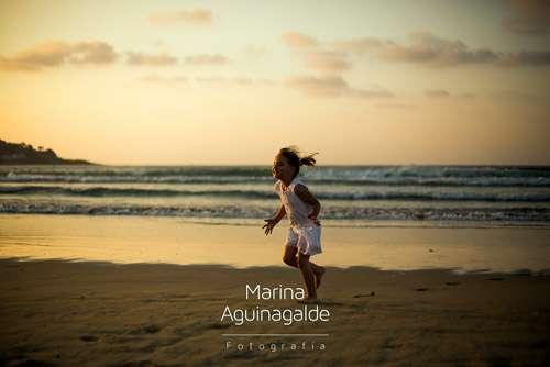 Fotografías de niños y bebés con Marina Aguinagalde