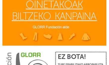 Campaña de recogida de ropa usada y calzado en Anaka Haur Eskola