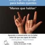 Lenguaje de signos para bebés: como comunicarte con tu bebé antes de que empiece a hablar.