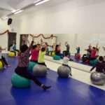 Ludoteca de zumba en Apunto Centro Fitness