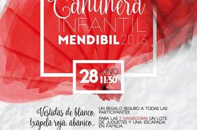 """5ª elección de """"Cantinera infantil Mendibil 2016"""""""