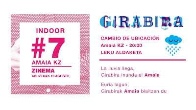 Girabira #7 Zinema, este viernes 19 de agosto en el Amaia Kz