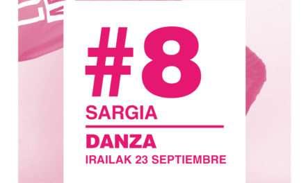 G#8 Danza, este viernes en el parque Sargia de Irun