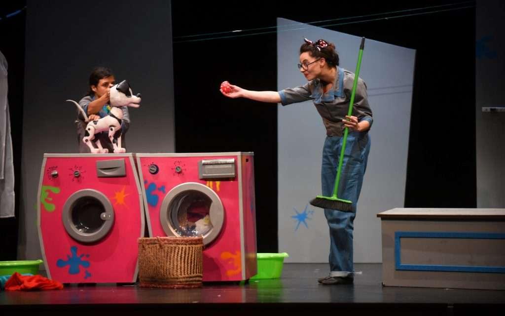 Teatro para niños «Pintto Pintto» en Irun ( Anita Maravillas)