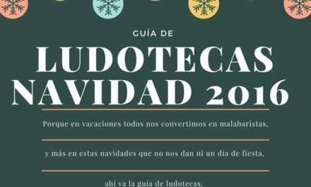 Guía de ludotecas de navidad 2016