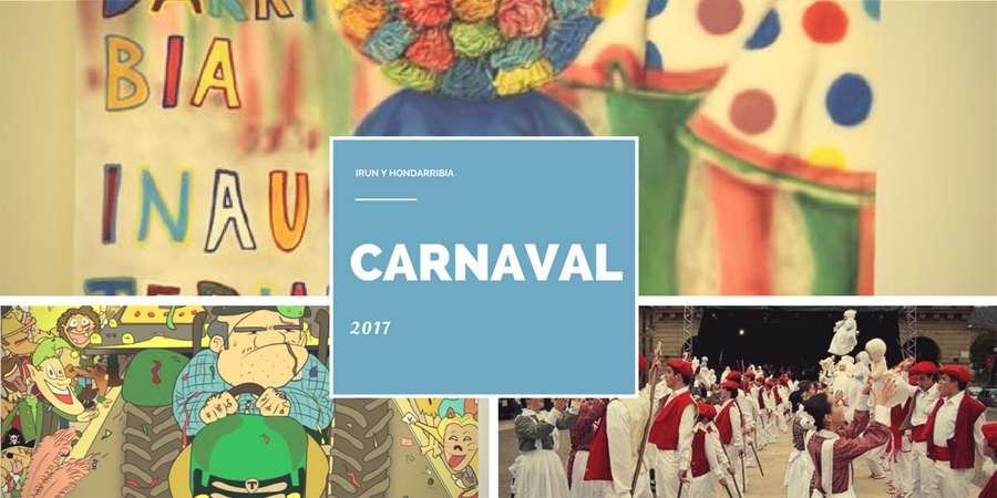 Carnaval 2017 en Irun y Hondarribia