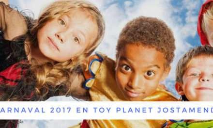 Disfraces y complementos para carnaval en Toy Planet Jostamendi de Irun