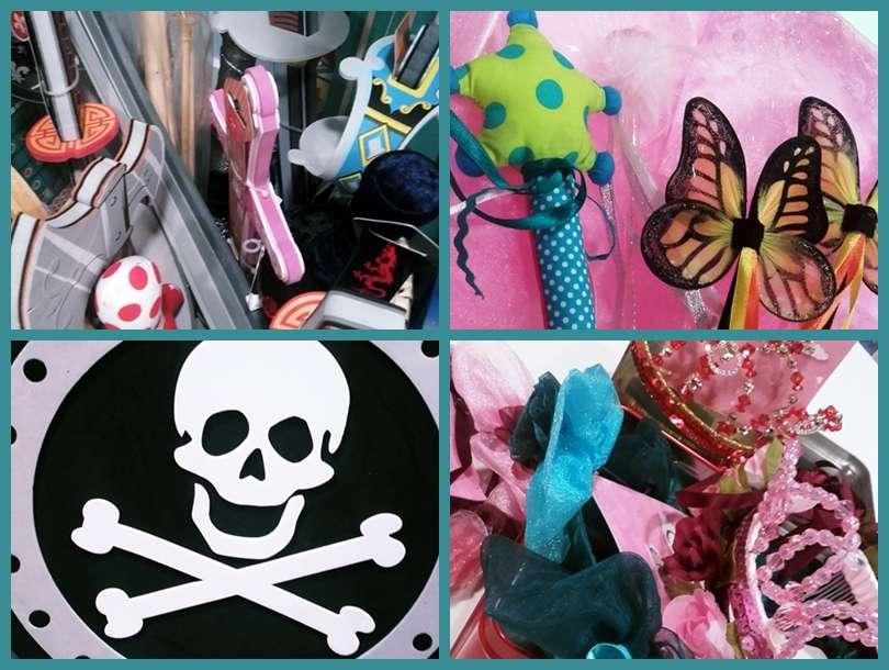 Preparando el carnaval en Tartufa