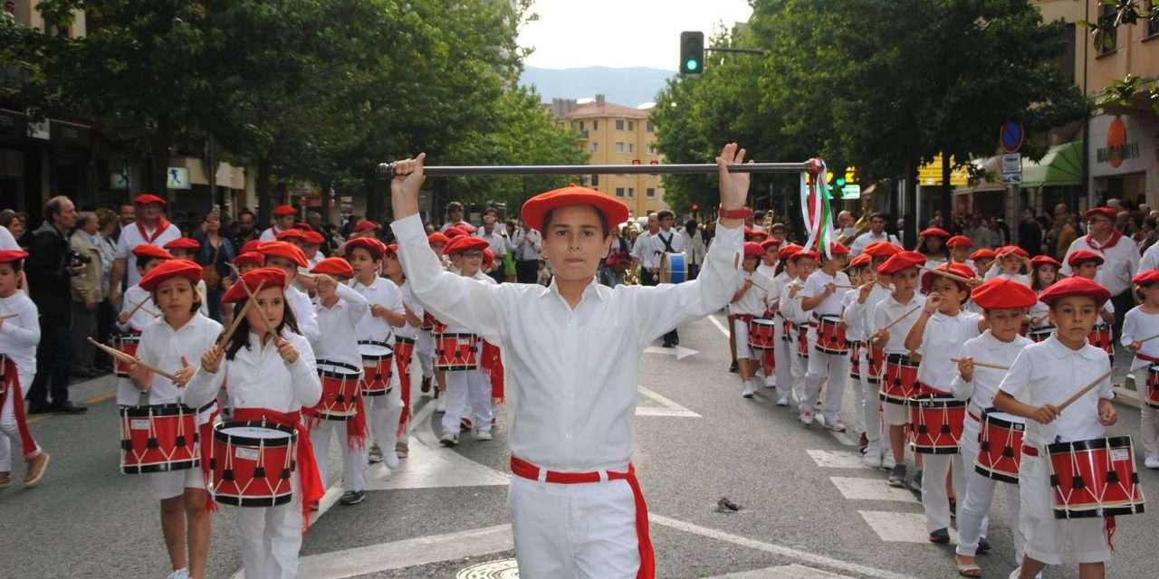 Tamborrada infantil San Juan Arri 2017