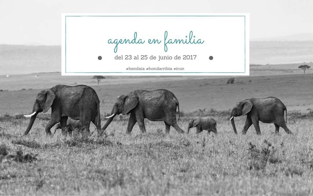 Agenda para el fin de semana del 23 al 25 de junio