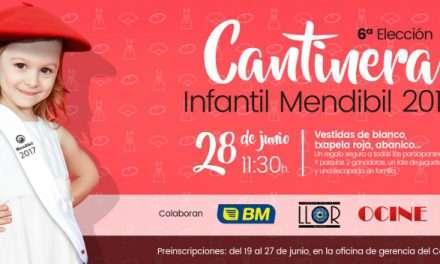 """6ª ELECCION DE """"CANTINERA INFANTIL MENDIBIL 2017"""""""
