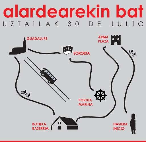 alardarekin bat_30 de Julio_Hondarribia