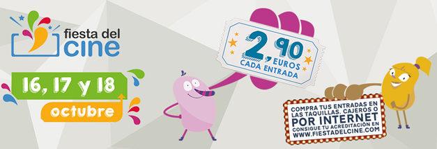 XIII Edición de la Fiesta del Cine: al cine por 2,9€