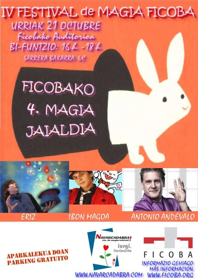 IV Festival de magia-Ficoba-irun