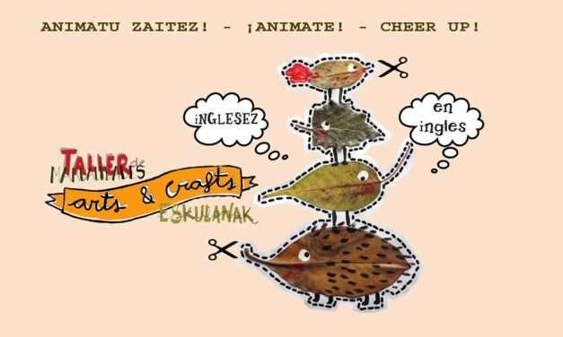 Arts&Crafts : manualidades en inglés en Kopiart / Folder Irun