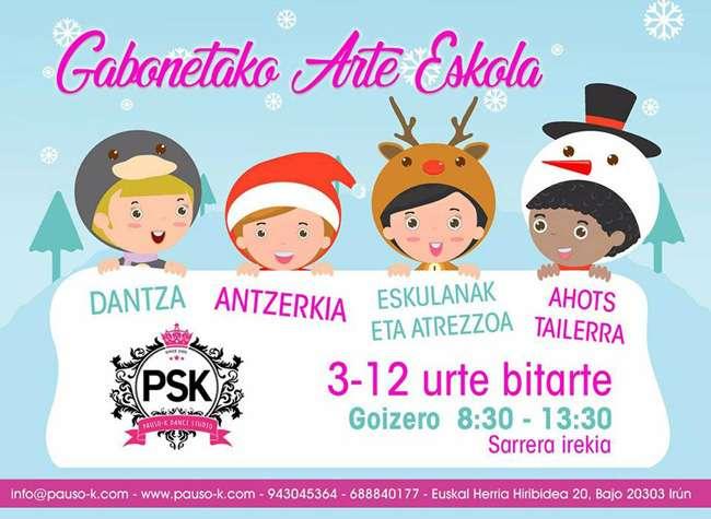 Pausok Dance-ludoteca-Navidad-Irun
