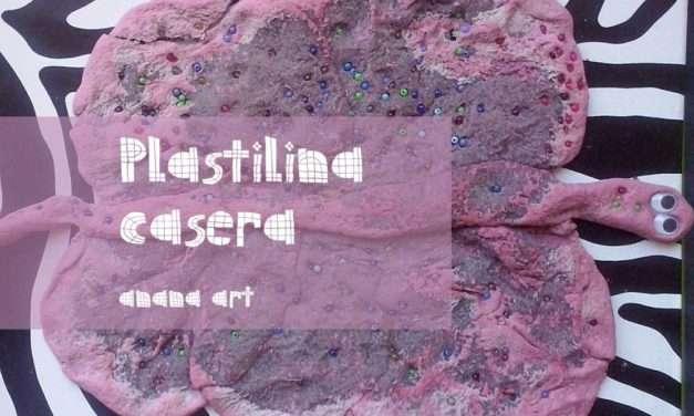 NUESTRA PLASTILINA CASERA : MANUALIDAD ESPECIAL_ESKULANA #12 CON ANANA ART