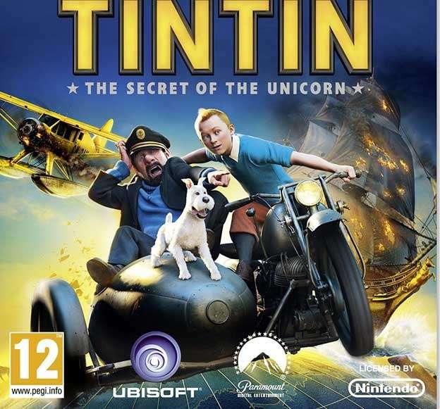 "CINE INFANTIL ""THE ADVENTURES OF TINTIN: SECRET OF THE UNICORN-cba-irun"