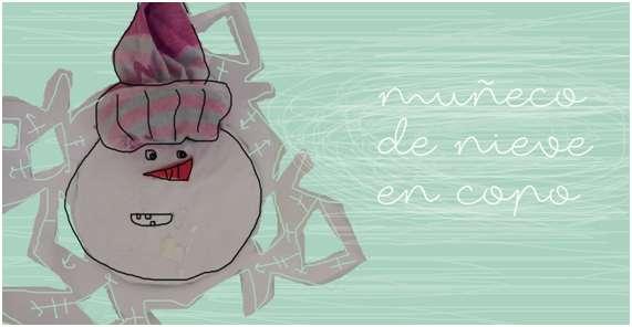 MANUALIDAD ESPECIAL NAVIDAD MUÑECO DE NIEVE #13 CON ANANA ART