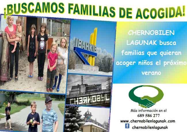 CAMPAÑA 2018. ACOGIDA de NIÑOS-O.N.G Chernobilen Lagunak G.K.N-kids&us-Irun