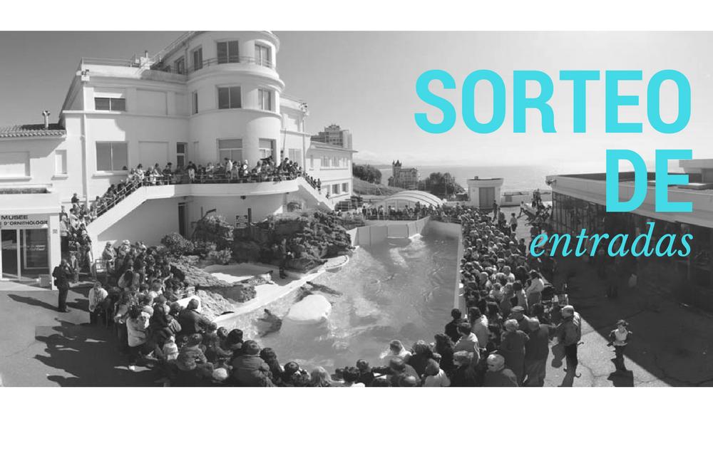 Sorteo de 3 packs de 2 entradas para el Aquarium de Biarritz