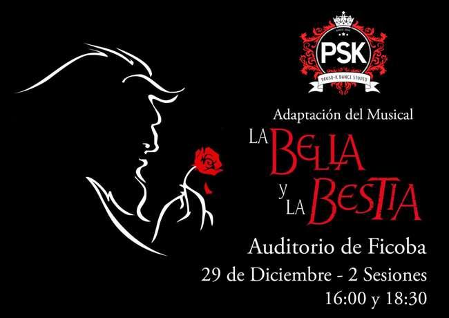 pauso-k dance studio-el musical-la Bella y la Bestia-Ficoba-Irun