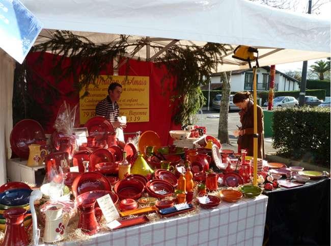 marché de Nöel -Urrugne