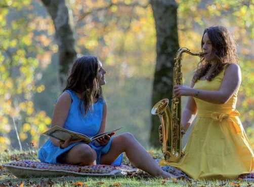 """CUENTACUENTOS MUSICADO """"SAXOFONISTARENA"""" en Ekoetxea Txingudi-Irun"""