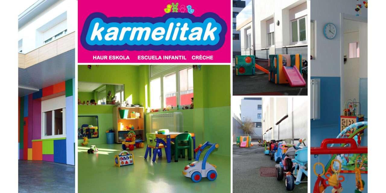 Karmelitak, escuela infantil en Irun desde 1962