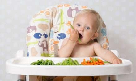 Alimentación autorregulada del bebé (BLW)