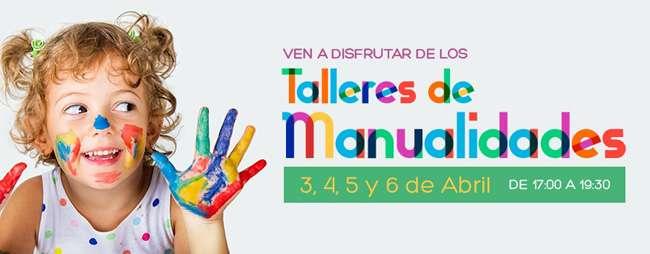 talleres infantiles-manualidades-Centro Comercial Mendibil-Irun