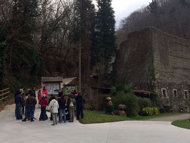 Museo Romano Oiasso-visita-a la necrópolis de Santa Elena-Irun