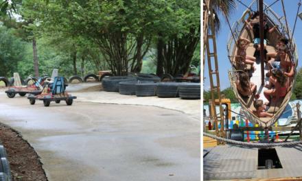 3 parques de «atracciones´´ al aire libre