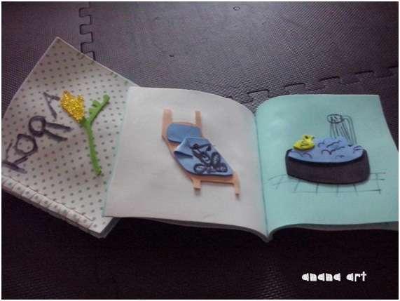MANUALIDAD : goma eva y agua- #17 CON ANANA ART-Irun