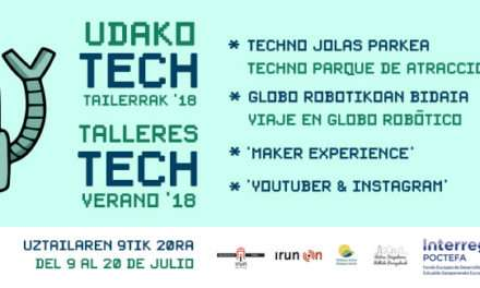 ¡ Llegan los talleres Tech de Bidasoa Activa !