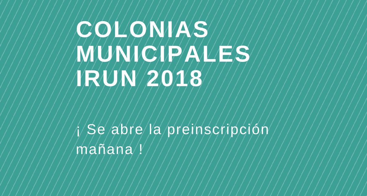 Colonias del ayuntamiento de Irun 2018 en Irrisarri Land
