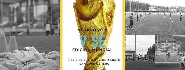 V DUNBOA-EGUZKI fútbol SUMMER EXPERIENCE 2018: EDICIÓN COPA DEL MUNDO-irun