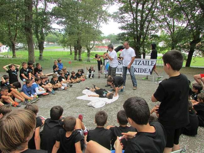 Campus David Zurutuza-fútbol-Hendaia
