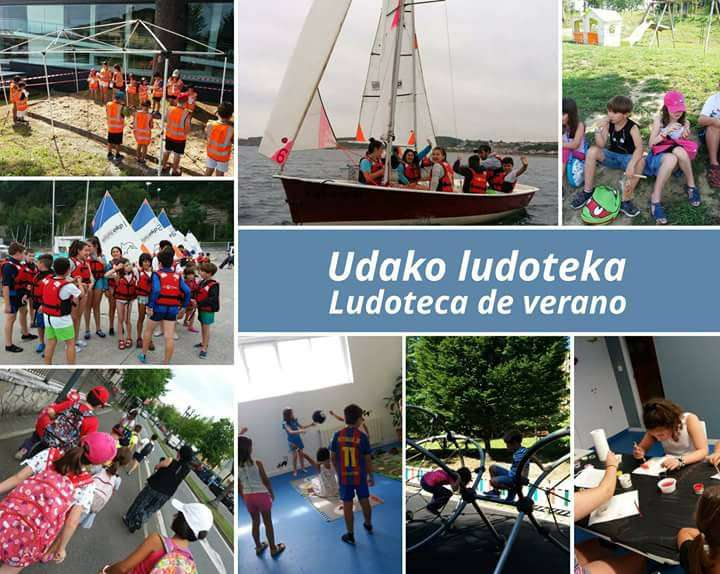 Ludoteka de verano en euskera en Laket Irun