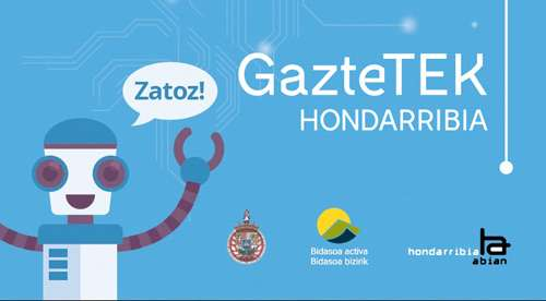Talleres tecnológicos gratuitos GAZTETEK en Hondarribia