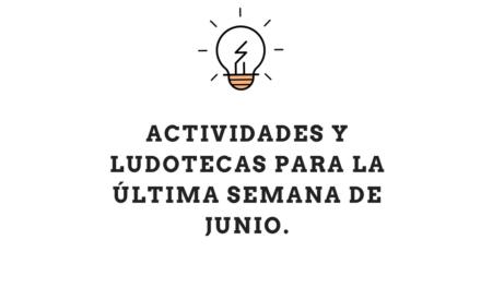 Ludotecas en Hondarribia e Irun para la última semana de junio