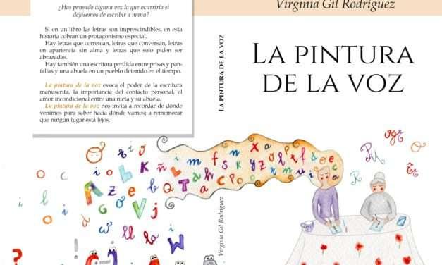 """Ganadores del libro de Virginia Gil """"la Pintura de la Voz"""""""