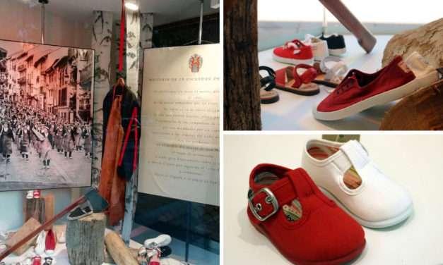 Correcaminos zapatería infantil : calzado en blanco y rojo para estos sanmarciales