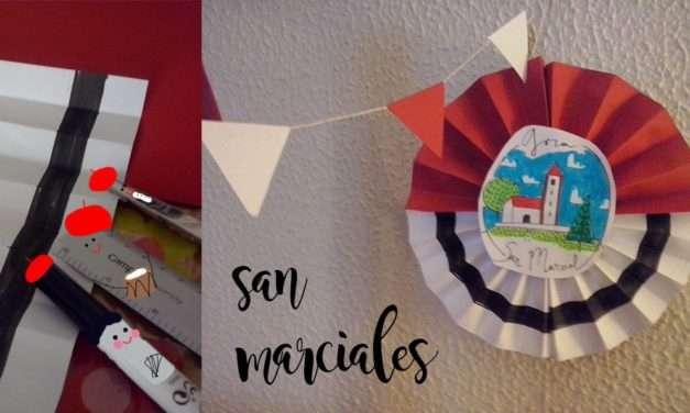 Manualidad : decoración San Marcial #18 con Anana Art