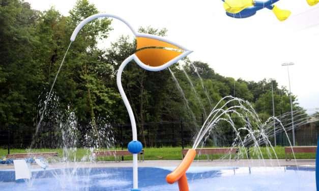 Espacio deportivo San Marcial Txingudi : piscinas al aire libre en Irun