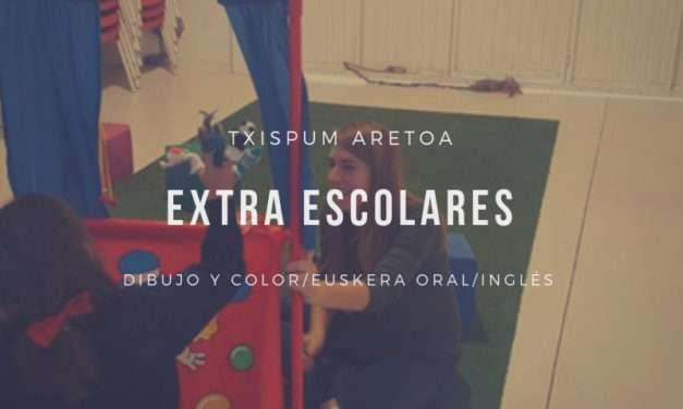 Extra escolares en Txispum aretoa Hondarribia