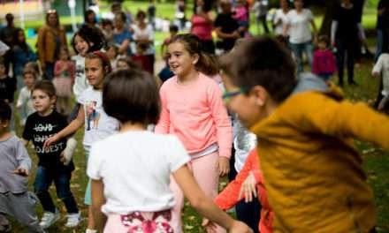 Txikimusika 2018 en el parque Alai Txoko de Irun