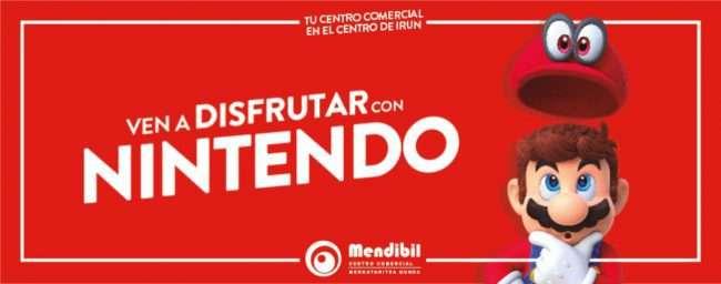 Los fines de semana del 26 de octubre al 17 de noviembre, el Centro Comercial Mendibil, cuenta con unEspacio Nintendodonde podréis probar los viernes y sábados los mejores juegos para la Nintendo Switch.